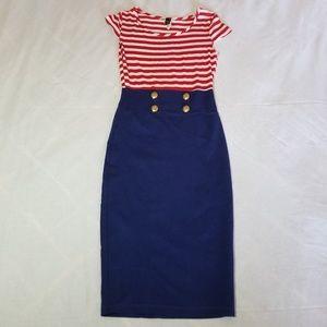 WINDSOR Sailor sheath dress
